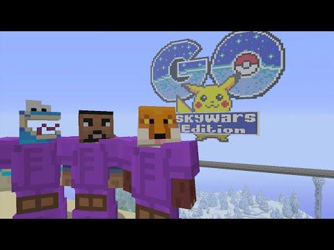 Minecraft Xbox - Pokemon Go - Team SkyWars