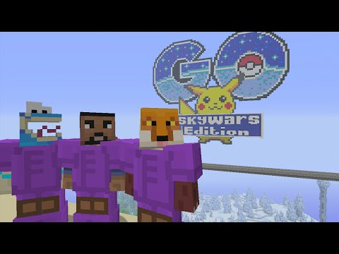 Minecraft Xbox - Pokemon Go - Team SkyWars