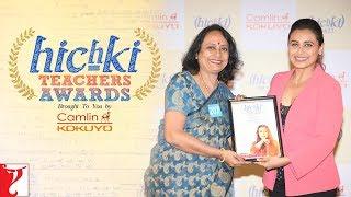 Hichki Teachers Awards   Rani Mukerji