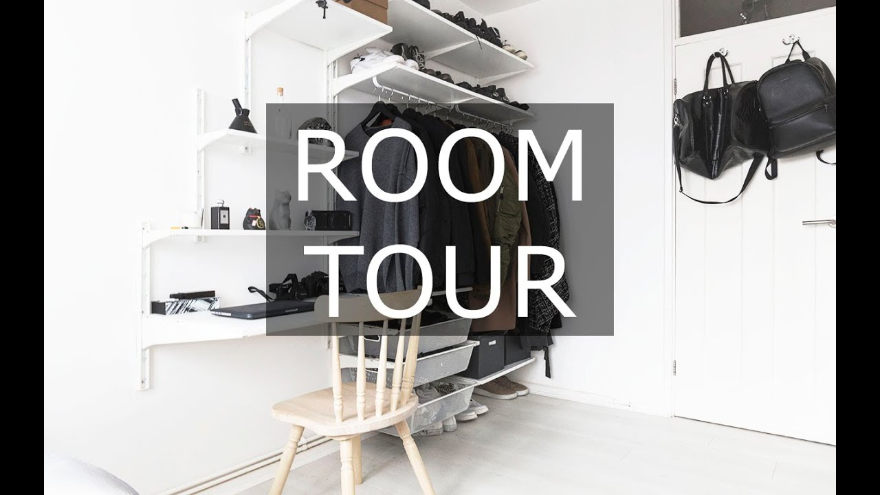 room tour minimal affordable ikea made gallucks youtube. Black Bedroom Furniture Sets. Home Design Ideas