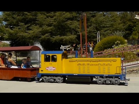 15 inch gauge, 1/4 Scale Railroad, Sonoma's Train Town