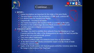 R.S.Sharma, Chapter 1   The Significance Of Ancient Indian History