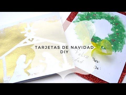 DIA 9   TARJETAS DE NAVIDAD  25 DÍAS DE MANUALIDADES CATÓLICAS  CRAFTMAS