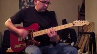 The Clash Janie Jones Guitar Cover