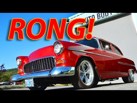 RONG! —  The '55 Chevy gets it
