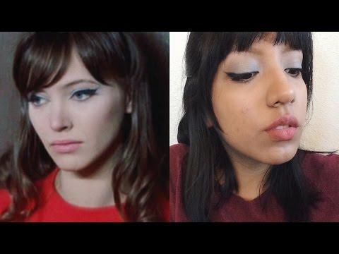 Anna Karina Inspired Makeup