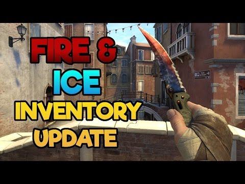 FIRE & ICE KNIFE & NEUE GLOVES - CS:GO Inventory Update
