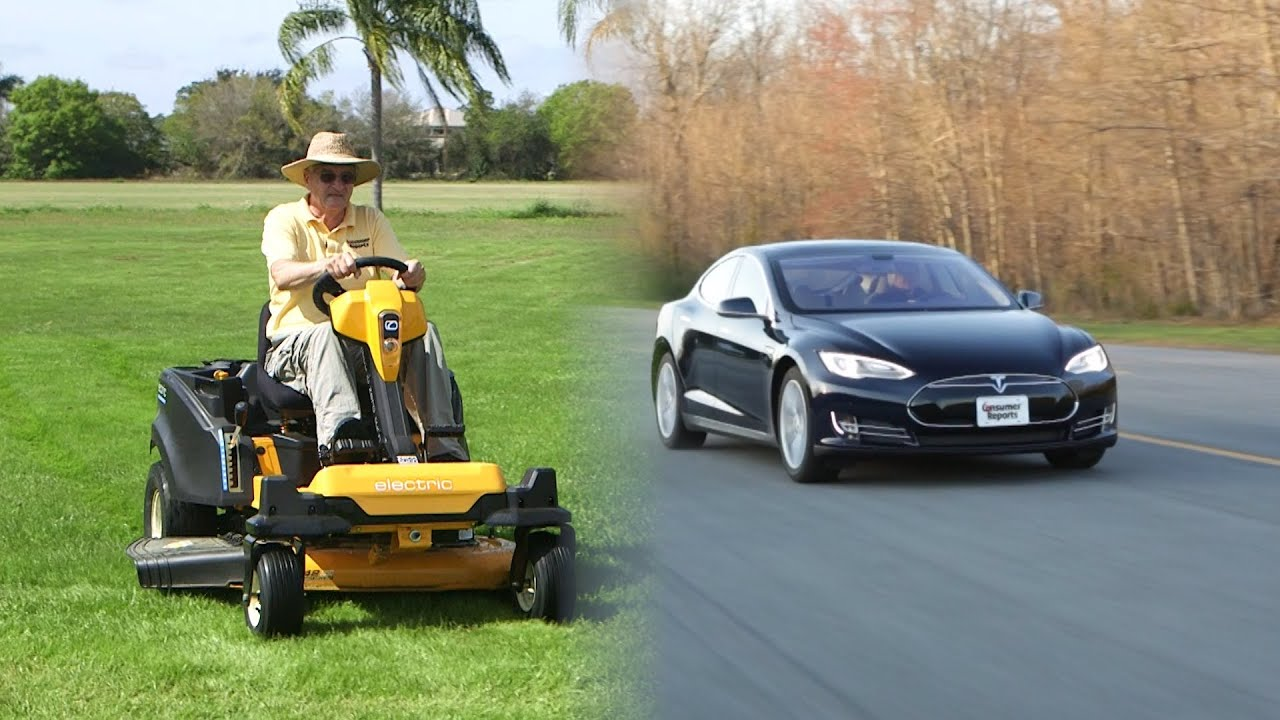 Tesla Of Lawnmowers Meet Cub Cadet S Rzt S 42 Consumer