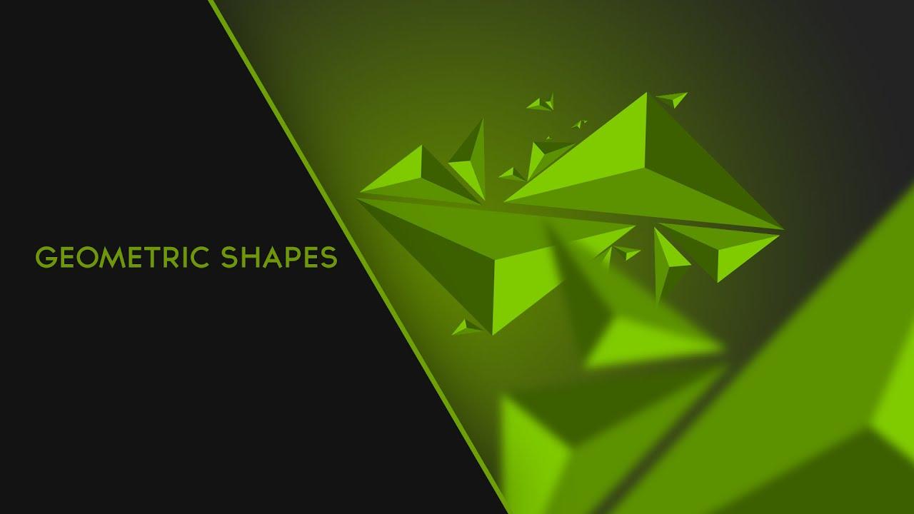 Create abstract geometric shapes triangles photoshop youtube baditri Images