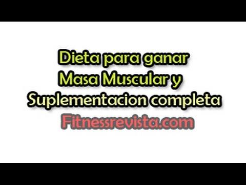Dieta para ganar masa muscular limpia de grasa