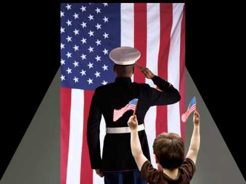 a stylized ppt video salute for veterans day - youtube, Powerpoint templates