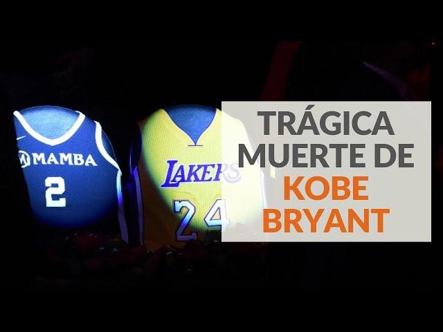 Trágica muerte de Kobe Bryant en accidente aéreo
