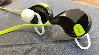 Aukey EP-B4 Wireless Bluetooth 4 1 Stereo Sport Earbuds Review