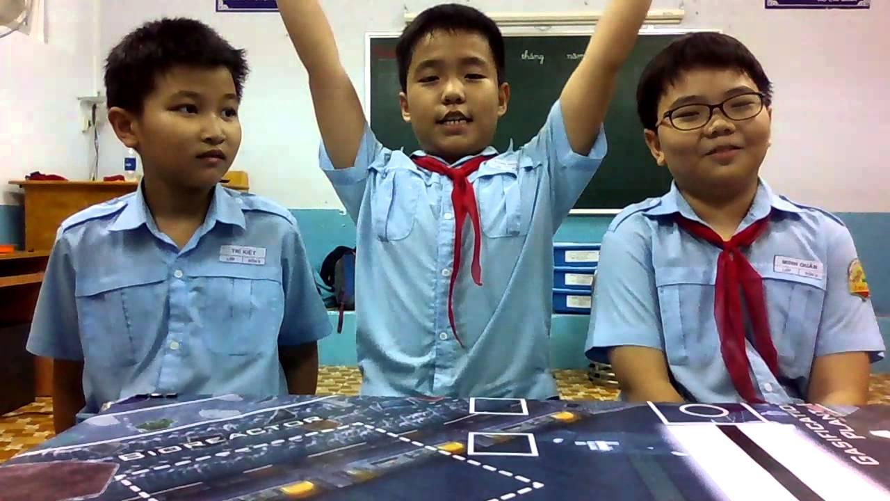 [Robothon 2014] Trường Tiểu học Lê Ngọc Hân – TP HCM – Nhóm  7