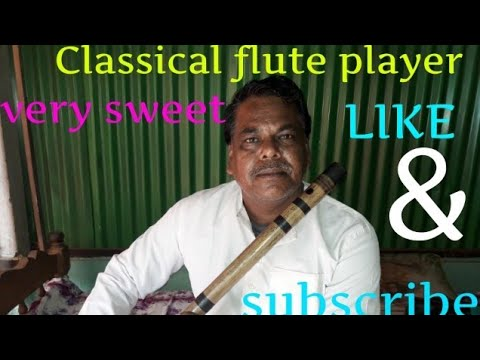 Classical flute player. Se this sweet video.