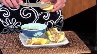 Healthy Kid's Snack: Peanut Butter Apple Crunch Video