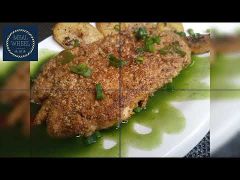 cashew crusted chicken and dried fruit