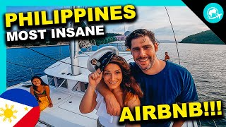 24H on the CRAZIEST YACHT AirBnb in EL NIDO - PALAWAN, Philippines