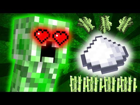 Why The Creeper Likes Sugar - Minecraft