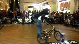 Indonesia BMX Action - Levelground BMX Rider Pro Indonesia Botay Agata, Heru Anwari, Jimmy.