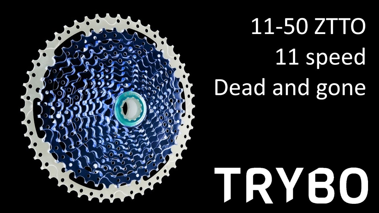 6e631c3b81f Death of a ZTTO 11-50, 11 speed cassette - YouTube