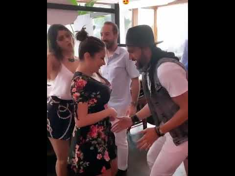 شاهد رقص النجمة ديما بياعة مع زوجها أحمد الحلو