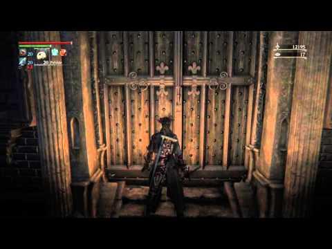 Bloodborne Forbidden Woods Run To Unlock The Door At T