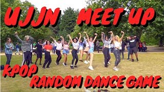 [KPOP IN PUBLIC] KPOP RANDOM DANCE GAME 10!! UJJN 3RD ANNIVERSARY MEET UP [UJJN]!! LONDON