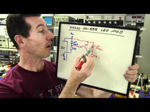EEVblog #242 - Hakko FX-888 Soldering Iron Hack