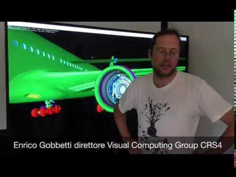 Enrico Gobbetti direttore Visual Computing Group CRS4
