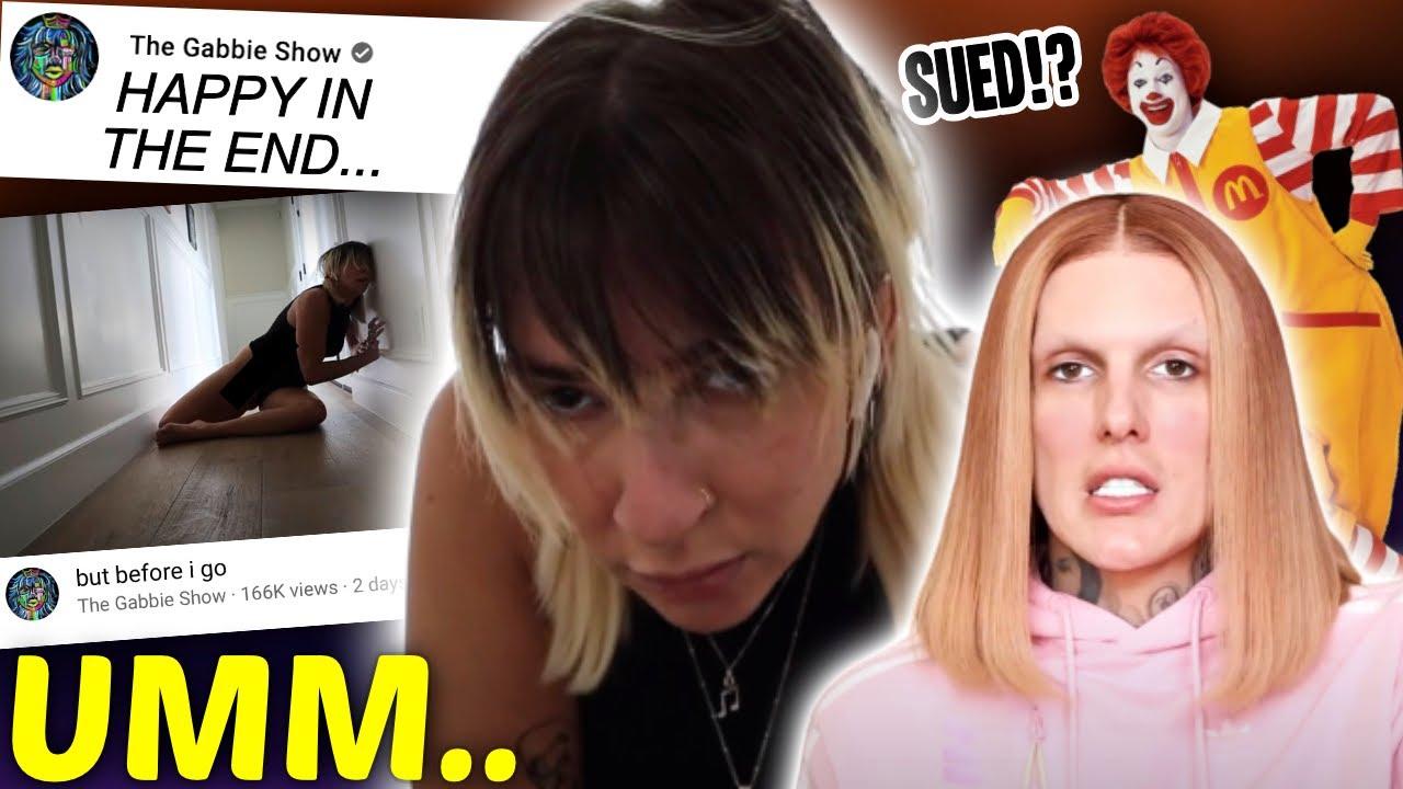 Gabbie Hanna RETURNS again, Jeffree Star COPIED McDonald's…