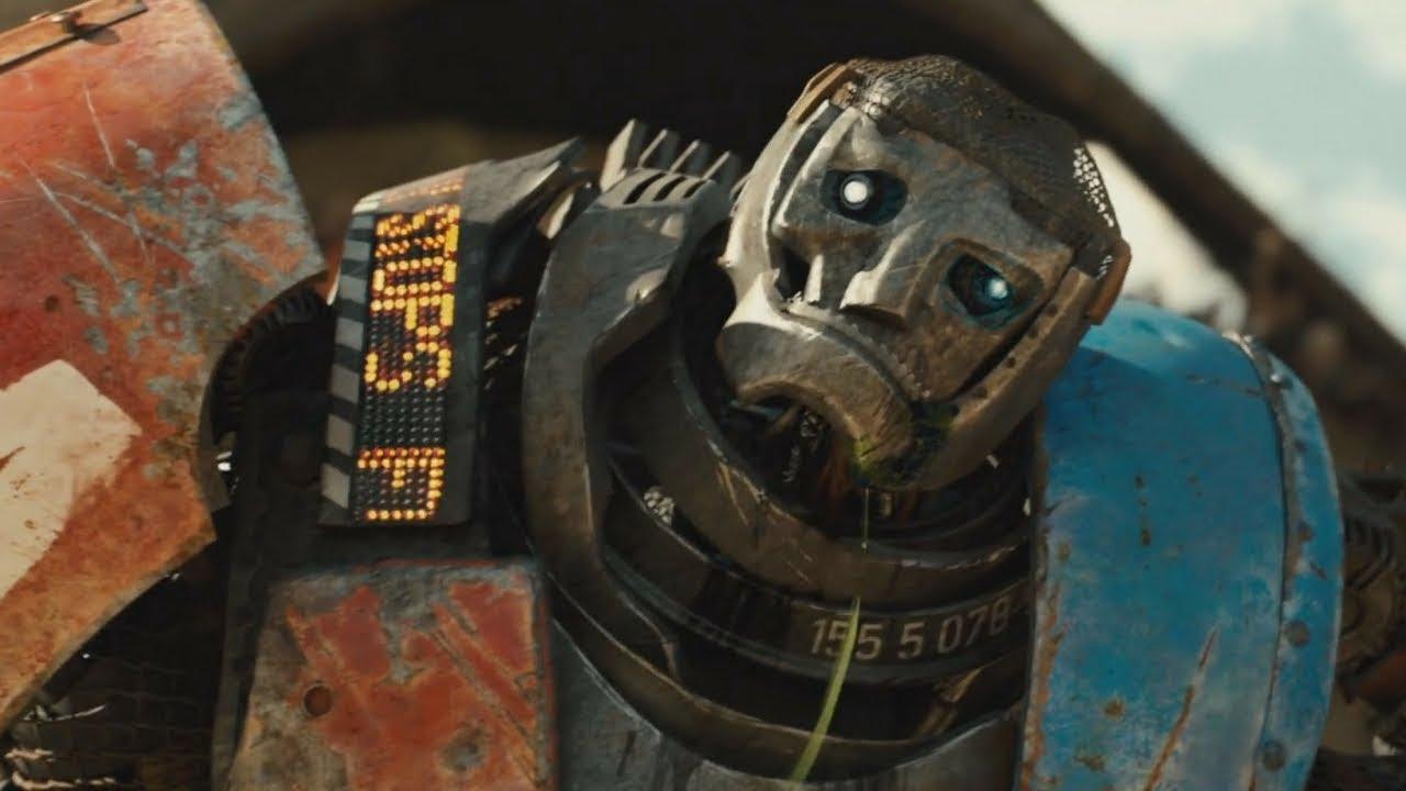 ✅Живая сталь(2011): Первый бой Атома✅