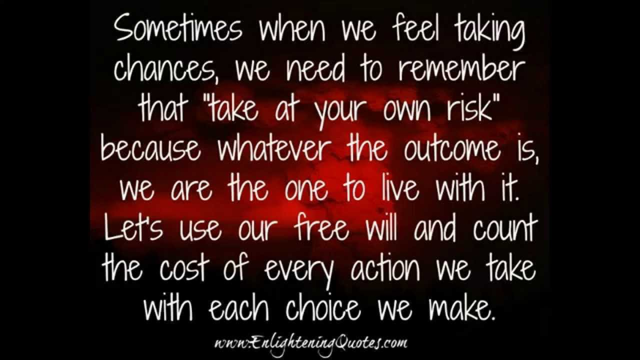Love Choices Quotes The Choices You Make In Life Will Make Your Life  Youtube