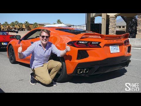Racing The NEW 2020 Corvette C8 On Track!