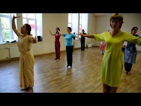 Kuchipudi tutorial Elena Tarasova