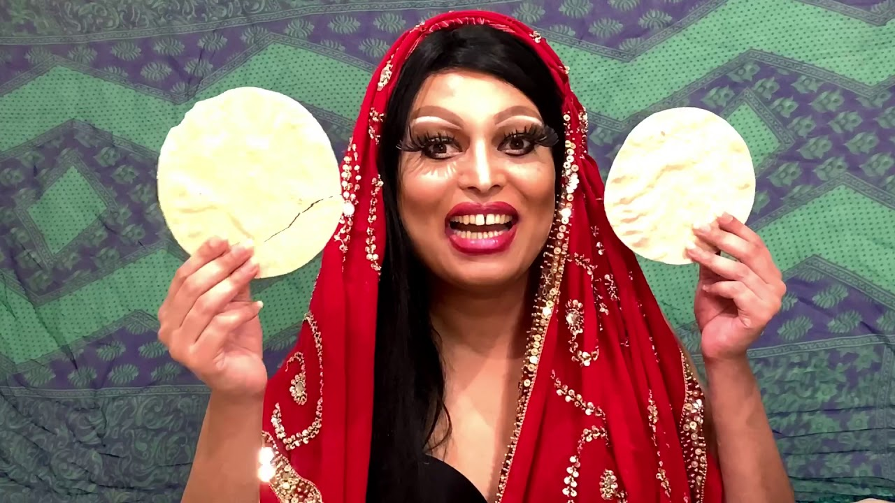 Asifa Lahore - Spice Up Your Life (Bollywood drag parody)