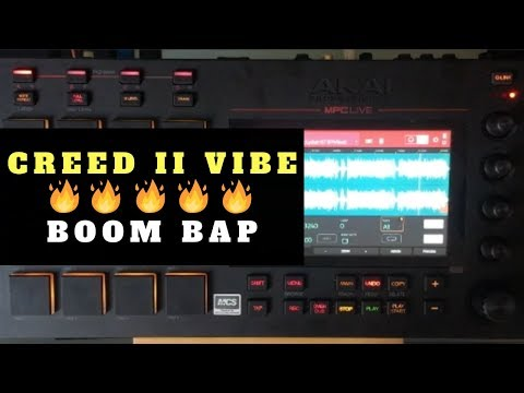 Making A Creed II Beat In MPC Live 2.3   Chopping Block