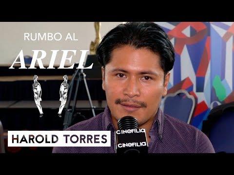 """CINExclusiva """"Rumbo al Ariel"""": Entrevista con Harold Torres"""