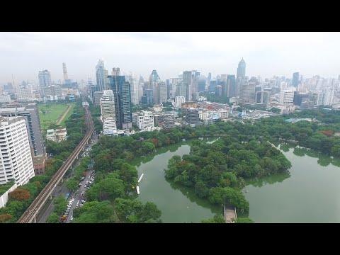 สวนลุมพินี โดรน (Lumpini Park from Drone) Dji Phantom3