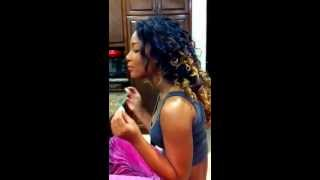 Jade Pinkett singing jhene aiko- wait no more