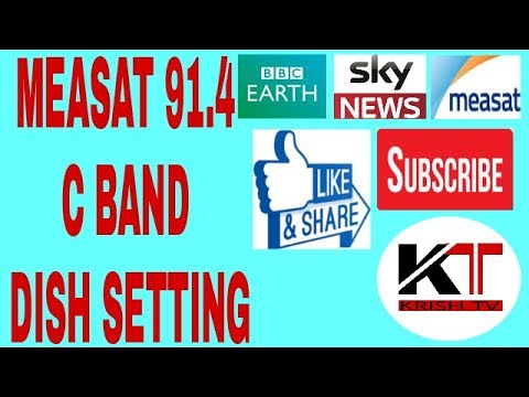 Measat 91.4 Full Setting And Channel List