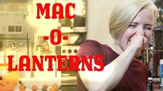 My Drunk Kitchen: Halloween Mac-O-Lanterns!