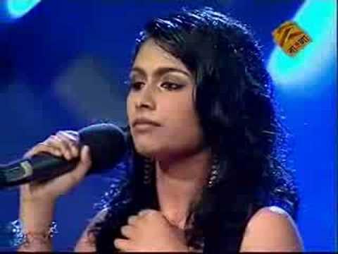 Shirsha - Live (India TV, 2008) - Demo soprano voice