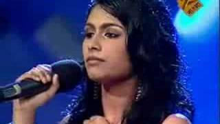 Shirsha - Live (India TV, 2008) - Demo soprano voice
