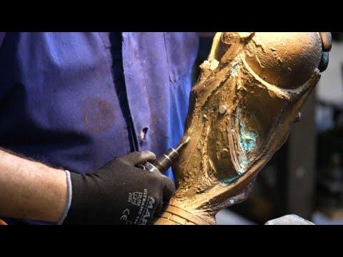Football: Italian company restores the FIFA World Cup trophy