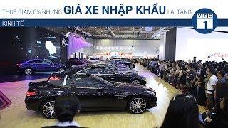 Thuế giảm 0% nhưng giá xe nhập khẩu lại tăng | VTC1