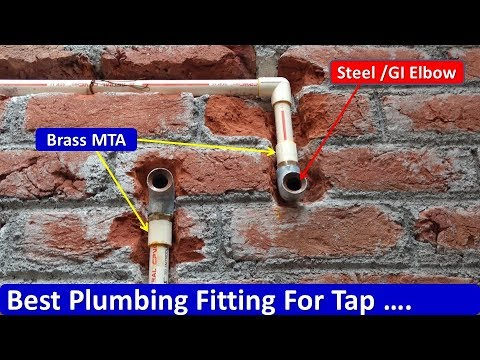 Best Plumbing Fitting For Tap