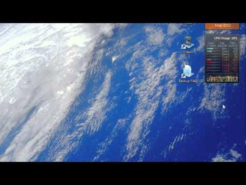 All CPU Meter Windows Gadget Review