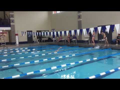 Josh W - 100 Back - Illinois College Dual Meet