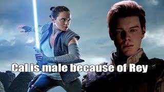 The reason Jedi Fallen Order has a male protagonist